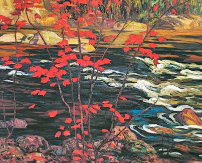 Red Maple (1914) - A.Y. Jackson