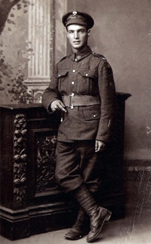 Pte. Sidney Halliday* fought during the First World War with the 78th Battalion, also known as the Winnipeg Grenadiers.