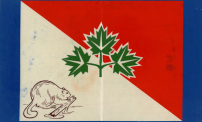 The beaver did not become a national emblem of Canada until 1975, but they have long been a popular Canadian symbol.