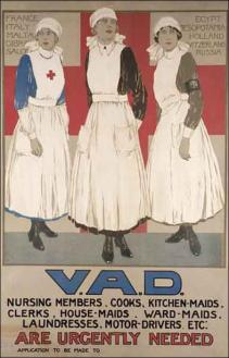 Women were targeted in wartime propaganda too. This is one of the few examples regarding women working. Most posters about women were not about them physically joining the war effort.