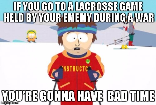 Lacrosse Super Cool Ski Instructor Meme