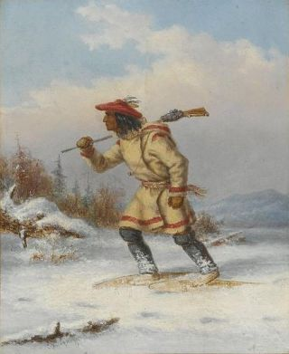 Following the Moose (c. 1860)