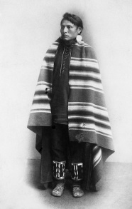 Blackfoot Warrior. (A. Ross, 1888).