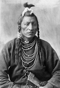 Chief Owl Blackfoot. (A. Ross, 1886).