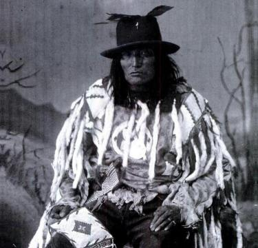 Bull Head, a Sacree (Tsuu T'ina) Chief. (A. Ross, 1887)
