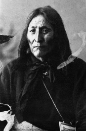 Crowfoot, Blackfoot Chief. (A. Ross, 1887).