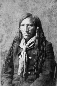 Rabbit Carrier, Blackfoot. (A. Ross, 1888).
