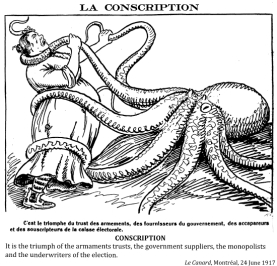 The issue of conscription was so heated it nearly tore apart the country.