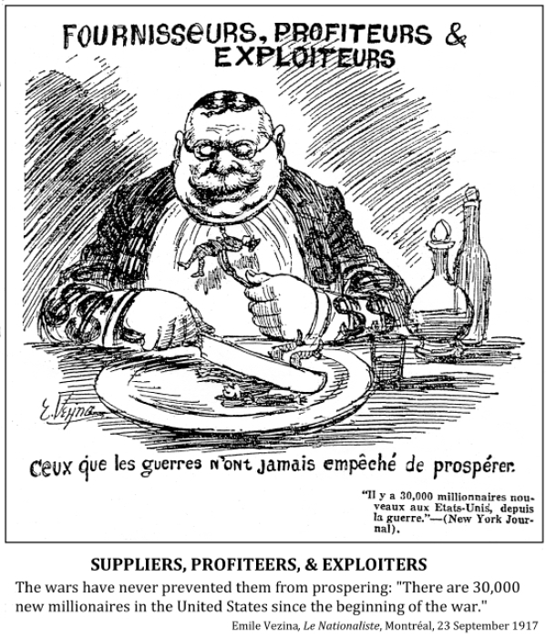 Image result for profiteers of wwi