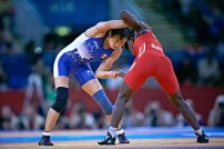 Carol Huynh was Canada's first Olympic women's wrestling champion at the 2008 Beijing Games.