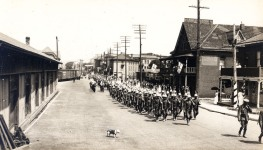 Dominion Day Parade in Niagara Falls, July 1, 1917